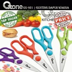colorfull kitchen scissor ox 921