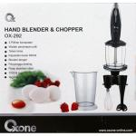 Hand Blender and Chopper Oxone ox-292