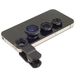 universal clip lens 3in1