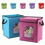 Colored Cow Storage Box
