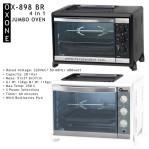 4in1 Jumbo Oven ox 898br