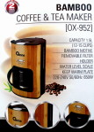 Bamboo Coffee and Tea Maker ox 952