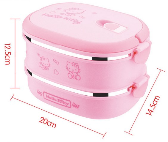 Double Stainless Lunch Box