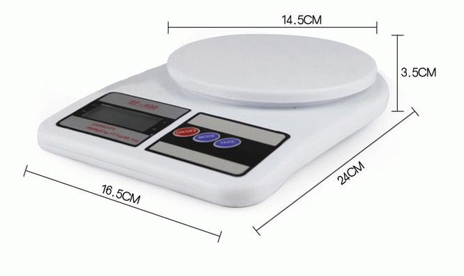 Kitchen scale max 5kg