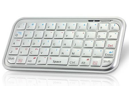 Mini Bluetooth Keyboard White