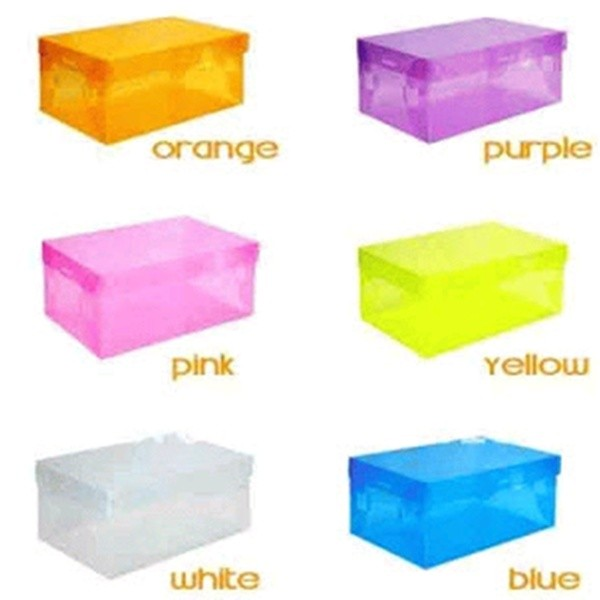 Option Color Shoes Box Transparent