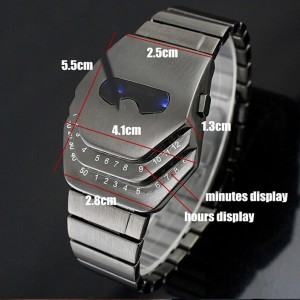 Snake Head led watch