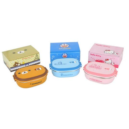 jual Single Stainless Lunch Box