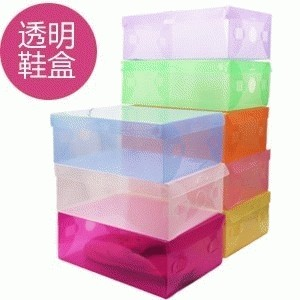 Shoes Box Transparent