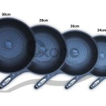 Fry Pan Diamond Coated ox 20f