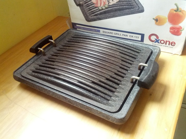 Square Grill Pans Ox 133 murah