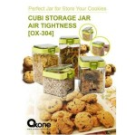 air tight cubi storage jar ox 304