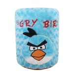 cover galon angry bird biru
