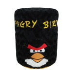 cover galon angry bird hitam