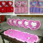 cover sofa set hello kitty