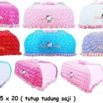 cover tudung saji hello kitty