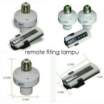 remote fiting lampu