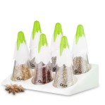 Snowy Spice Set with Rack ox 341