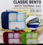 classic bento with termal bag ox 067