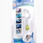 6 way opener