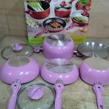 cookware set supra rosemery pink