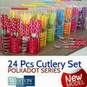 weston 24 cutlery set
