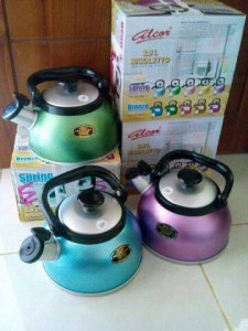 alumunium kettle alcor