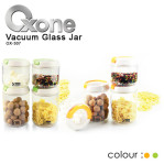 4pcs vacuum glass jar oxone 307