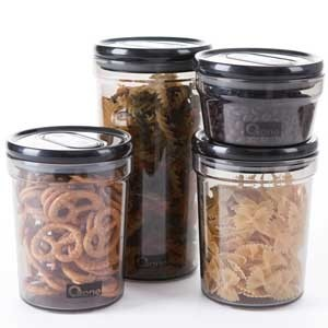 4pcs teeter board storage jar oxone 302