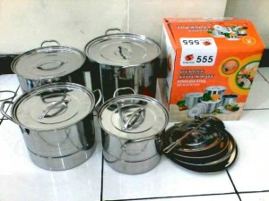 steamer stock pot saito 555/ stock pot saito dos orange