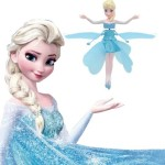 flying frozen elsa