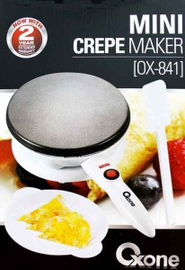 mini crepe maker oxone 841
