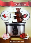 chocolate foundue fountain double dodawa / alat pancur coklat double