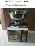 prasmanan warmer stove diameter 30cm + tungku