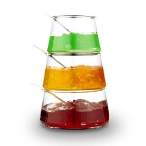 3 tiers condiment jar oxone 320