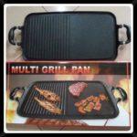 multi grill pan alat pangang teflon anti lengket
