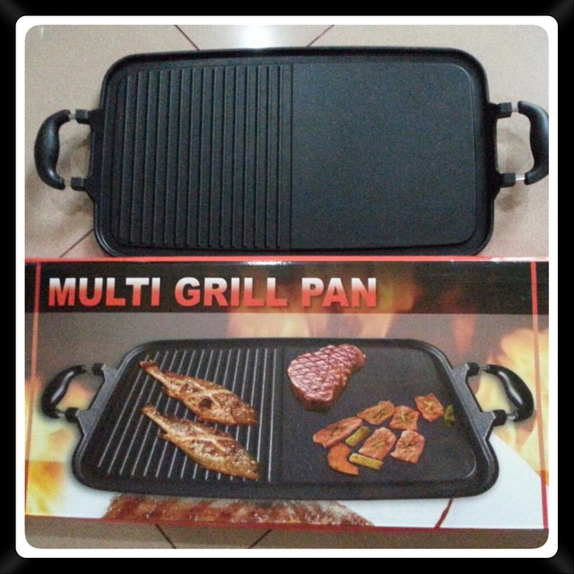multi grill pan marble