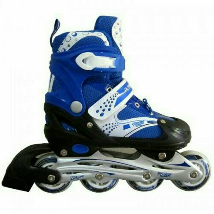 new roller skate power superb blue