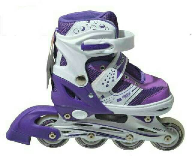 new roller skate power superb purple