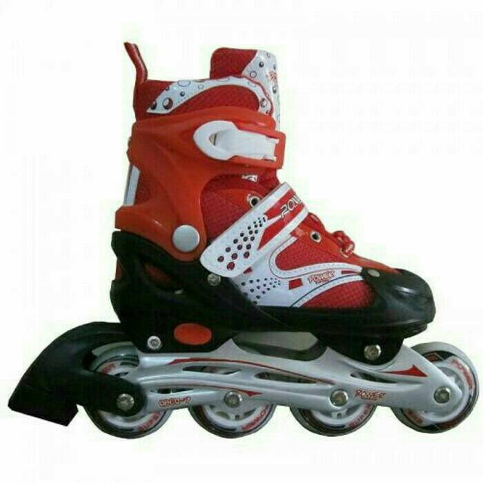 new roller skate power superb red