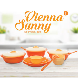 vienna sunny serving set