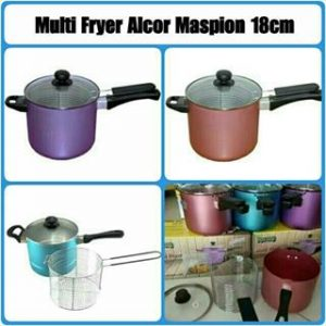 multy fryer alcor maspion