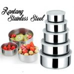 mixing bowl stainless 5pcs
