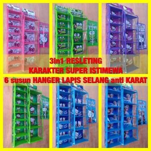 Organizer set 3in1 Karakter HBO HJO HSO